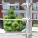 Balustrade Wire - Tube Mount - Made to Measure