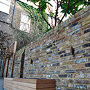 Courtyard Garden Wall