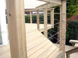 Stainless Steel Deck Cable Railing
