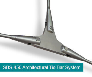 SBS-450 Architectural Tie Bar System
