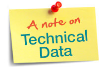 Technical Data Information and Advice