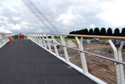 Stainless Steel Foot Bridge Railing Diglis