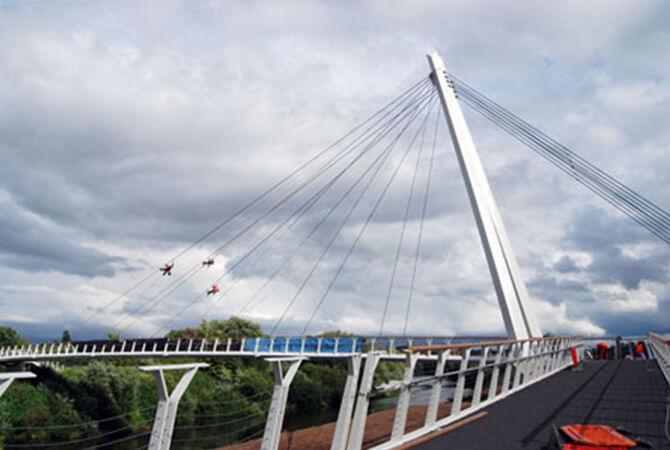 Diglis Foot Bridge Balustrade S3i Group
