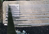 Stainless Steel Foot Bridge Railing