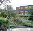 Cable Balustrade to Foot Bridge