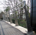 Cable Railing to Foot Bridge