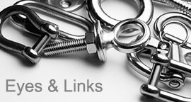 Eyebolts, Links, Hooks and Fixings
