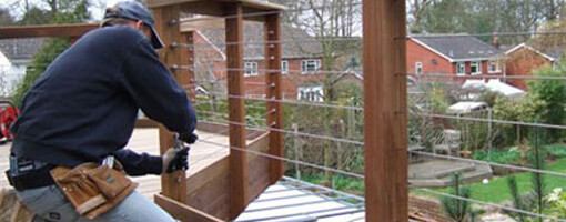 Measuring balustrade cable railing system