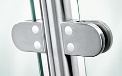 Glass Balustrade Systems - Clamps and Fittings