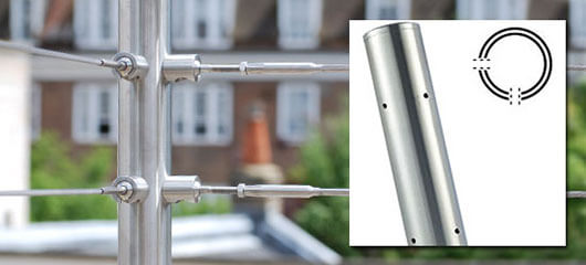 Stainless Steel Balustrade Corner Post