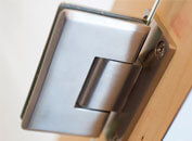 Stainless Steel Door Hinges for Frameless Glass Doors