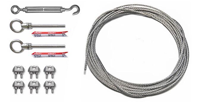 catenary wire kits