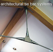 Our architectural tie bar system