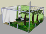 RHS Chelsea garden designed by Tom Hoblyn
