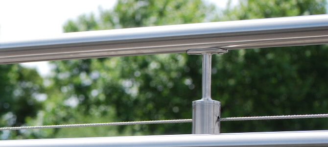 Handrail Saddle Tubular Example