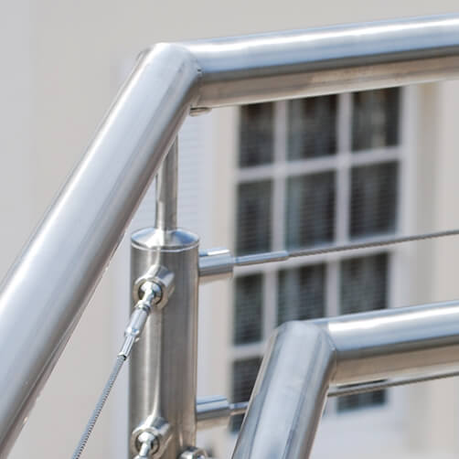 135 Degree Tubular Handrail Saddle