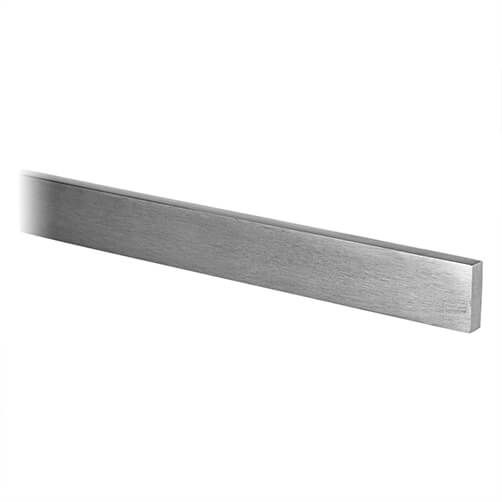 Flat Stainless Steel Square Handrail Section