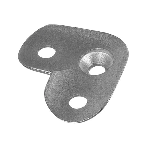 Handrail Saddle Plate 90 Tube