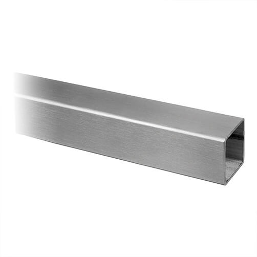 Stainless Steel 40mm Square Line Handrail Length