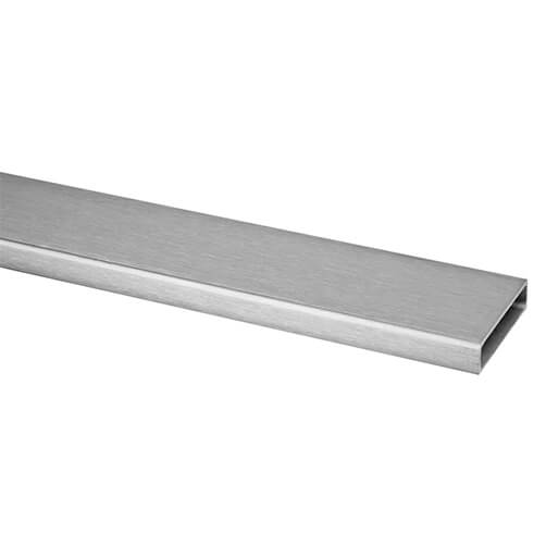 40mm x 10mm Stainless Steel Tube Handrail Section