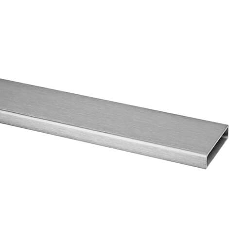 60x20mm Stainless Steel Tube - Handrail - Square Line 60x30 System
