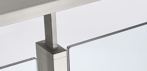 Stainless Steel 60x30 Handrail Saddles