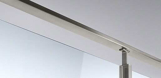 Stainless Steel Tube and Handrail - Square Line 60x30 Balustrade System