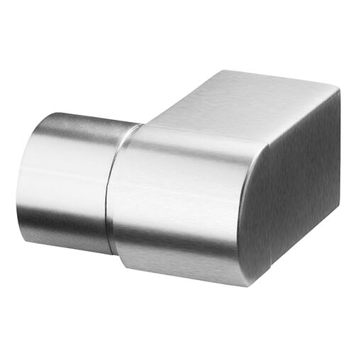 Juliet Balcony Stainless Steel Wall Flange To Accept Round Handrail