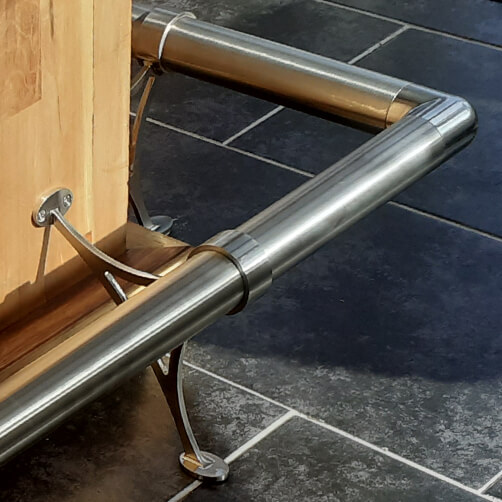 Bar Foot Rail Bracket Installation