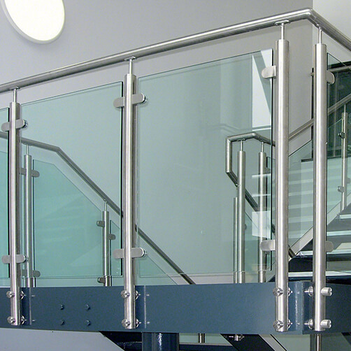 Stainless Steel Balustrade Baluster Post Bracket - Example