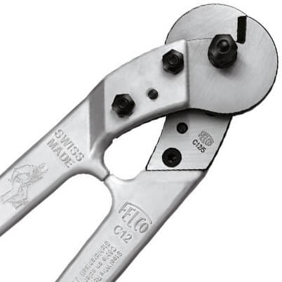 Felco C12 Wire Cutter - Jaw Detail