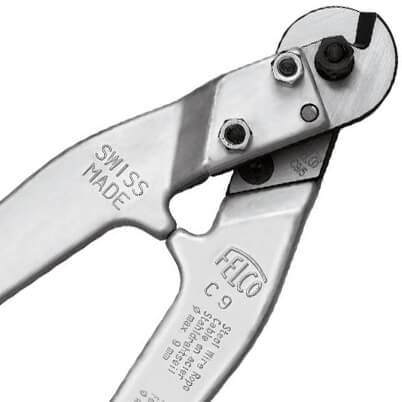 Felco C9 Wire Cutter - Jaw Detail