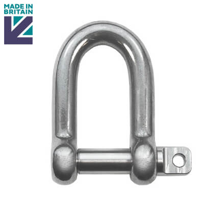 High Resistance Stainless Steel D Shackle