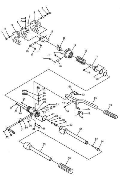 Hydraulic Wire Cutter 24mm Spares Diagram