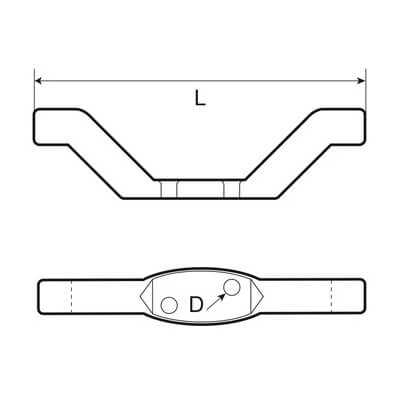 Halyard Cleat Diagram