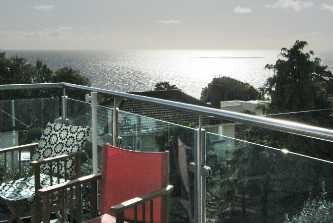 Glass Balustrade with Perfect Sea Views