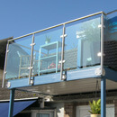 Glass Balustrade - Lyme Regis
