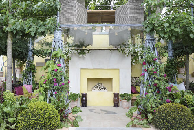 The M&G Garden designed by Bunny Guinness for RHS Chelsea 2011