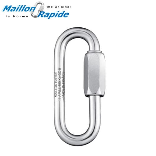 Maillon Rapide Quick Link Large Mouth - Stainless Steel
