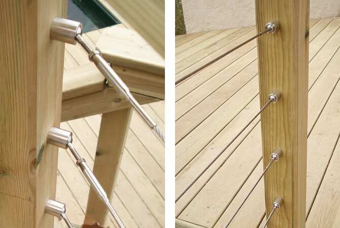 Balustrade Wire Articulation