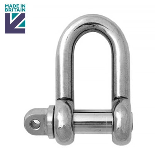 Stainless Steel Lifting Shackle - PH High Tensile - Standard Pin