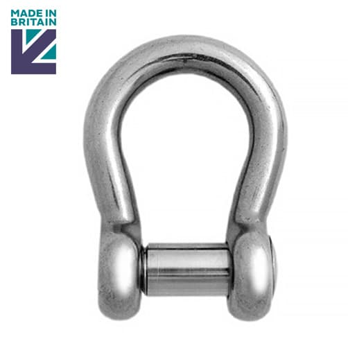 Stainless Steel Lifting Bow Shackle - PH High Tensile - Socket Head Pin
