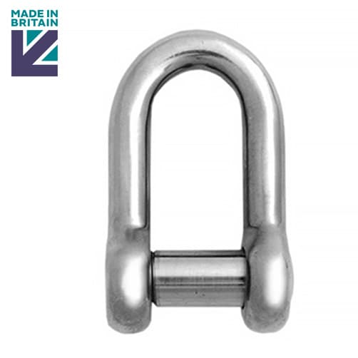 Stainless Steel Lifting Shackle - PH High Tensile - Socket Head Pin