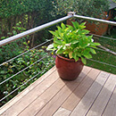 Tubular Handrail Deck Balustrade
