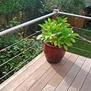 Tubular Handrail Deck Balustrade