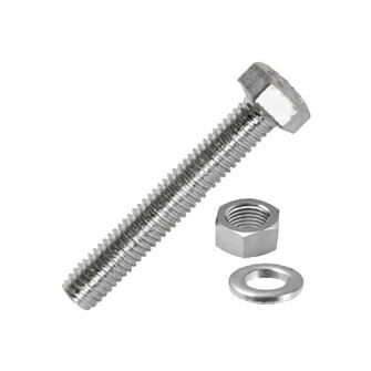 Hex Head Set Screw with Nut and Washer