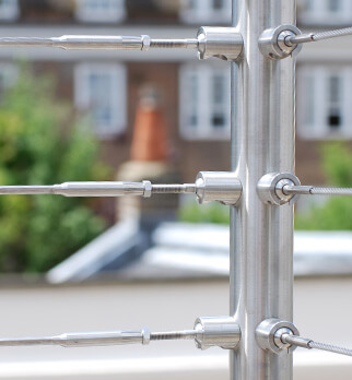 Wire Balustrade Kits - Tube Mount