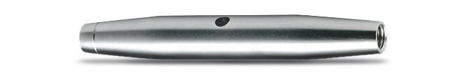 Turnbuckle Body with Metric Thread - 316 Stainless Steel