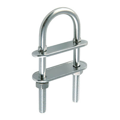 U Bolt - Stainless Steel Marine Grade 316