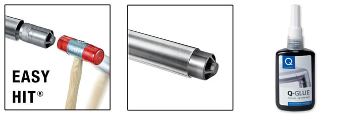 Ultra Stainless Steel In-Line Tube Connector Example